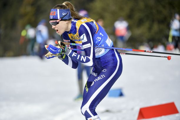 Eveliina Piippo ankkuroi Suomen MM-viestiä.