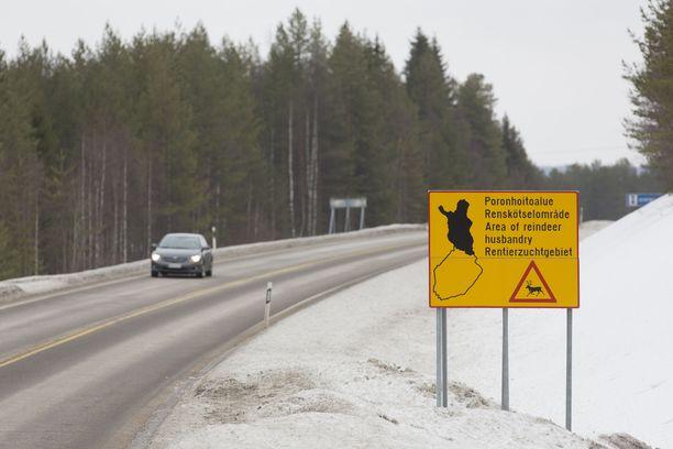 Hyrynsalmi sijaitsee Kainuun maakunnassa. Se on Suomen eteläisen poronhoitoalue.