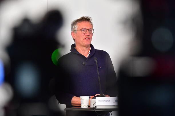 Valtionepidemiologi Anders Tegnell on Ruotsin pandemian vastaisen taistelun kasvot.