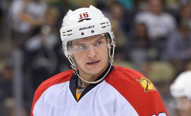 Aleksander Barkov pelaa loistavaa kautta Florida Panthersin paidassa.