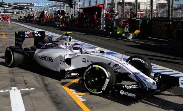 Williamsilla on ollut ongelmia varikkokäyntien kanssa.