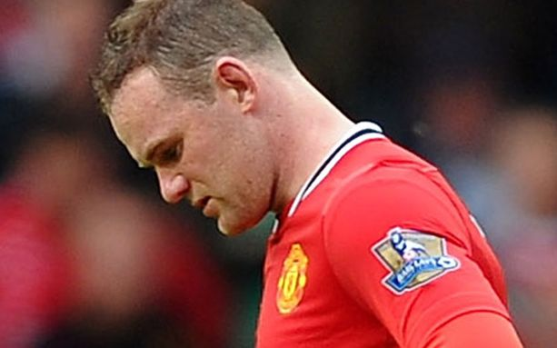 Wayne Rooney pettyi rajusti paikallisottelussa.