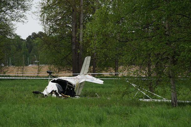 Konetta ohjanneella Petri Kaupilla oli noin muutama sekunti aikaa päättää, minne ohjata kone ilman että vaarantaa muiden hengen.