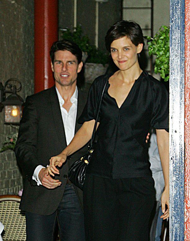 Tom Cruise ja Katie Holmes olivat naimisissa vuosina 2006-2012.