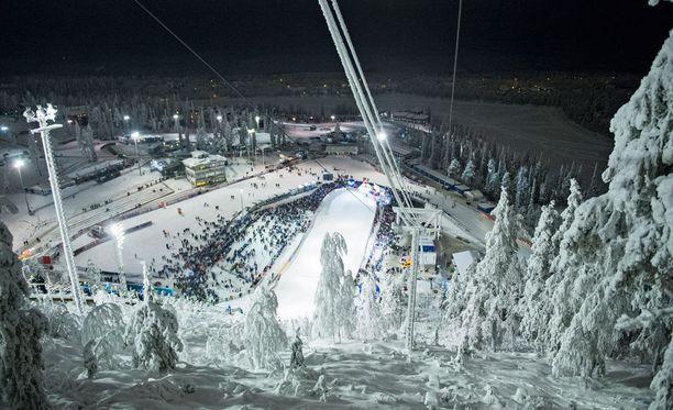 Rukan maailmancupin osakilpailu on vaakalaudalla tämän kauden jälkeen, koska FIS antoi Koillismaan isännille keltaisen kortin.