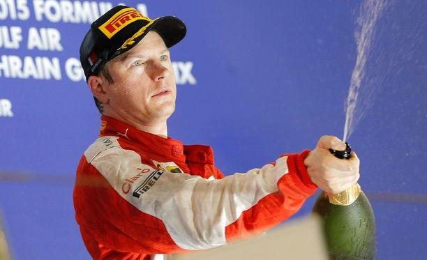 Kimi Räikkönen ei stressaa jatkostaan.