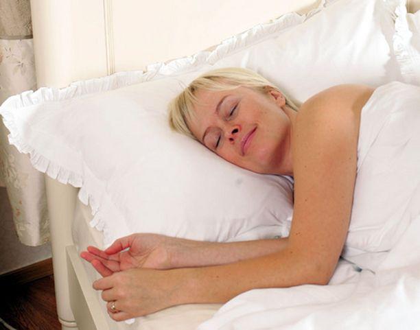 Kolmasosa elämästä kuluu sängyssä.