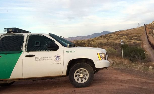 Rajavartioston, US Border Patrolin ajoneuvo. Kuvituskuva.