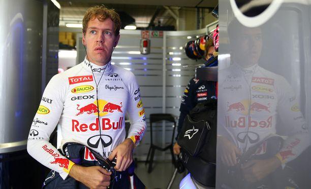 Sebastian Vettel on matkalla Ferrarille.