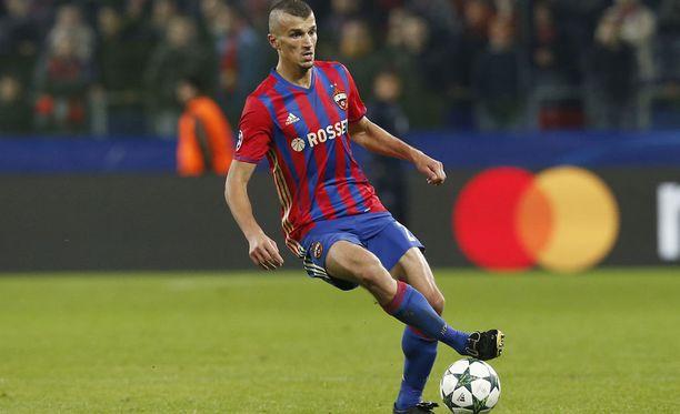 Roman Eremenko kävi torstaina Uefan kuultavana Nyonissa.