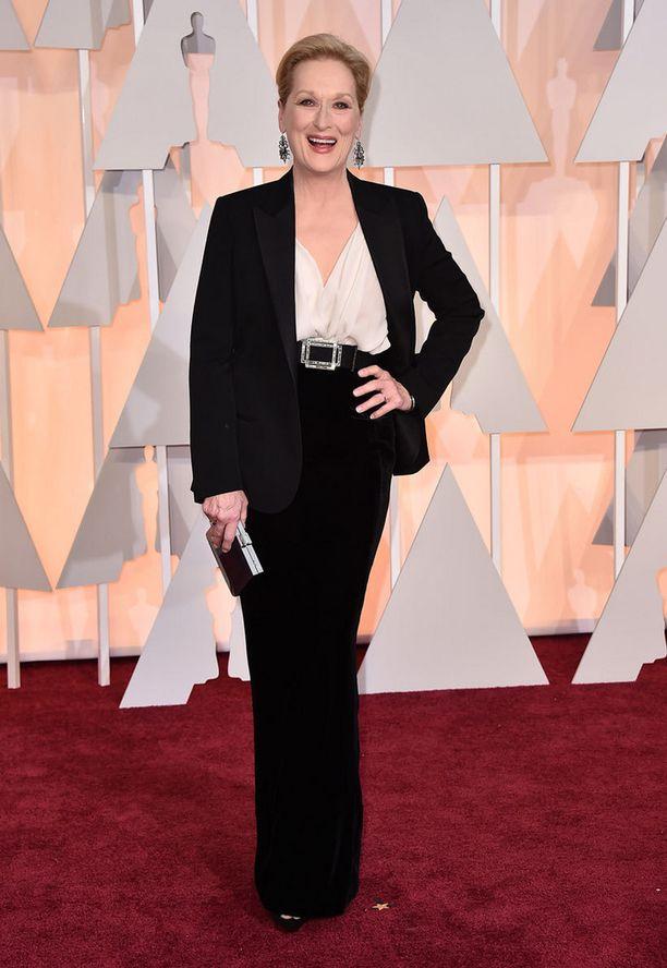 Oscar-voittaja Meryl Streep.