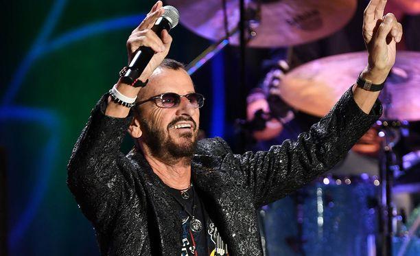Ringo Starr esiintyy Helsingin Kaisaniemessä ensi kesänä.