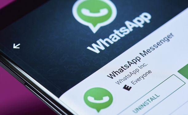 Whatsapp testaa tasaisesti uusia ominaisuuksia.