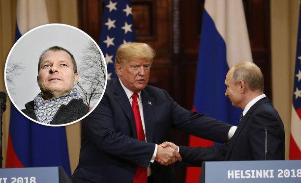 Maailmanpolitiikan professori Teivo Teivainen sanoo, että Yhdysvaltain presidentti Donald Trump ylitti ulkopoliittisen rajan syyttämällä huonoista Venäjä-suhteista amerikkalaisia.