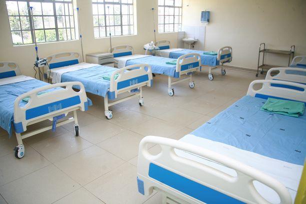 """Palsamointiin tuotu mies """"nousi kuolleista"""" Keniassa. Kuvituskuva sairaalan eristysosastolta Nairobista."""