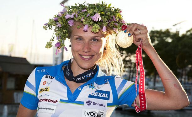 Minna Kaupin uran yksi komeimmista saavutuksista on vuoden 2012 keskimatkan MM-kulta Sveitsin Lausannesta.