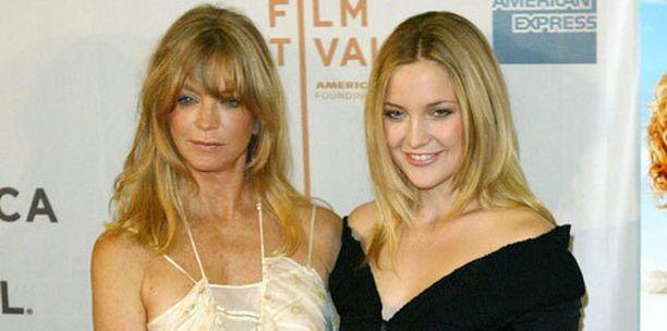 Goldie Hawn on Kate Hudsonin äiti.