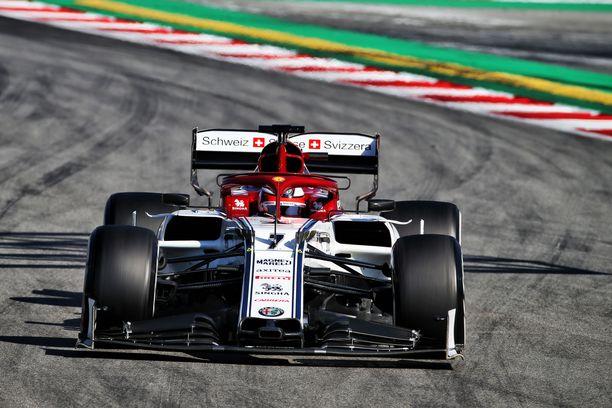 Kimi Räikkönen koki testikierrokset hyödyllisiksi.