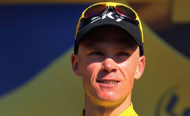 Chris Froome on lähellä Tour de Francen voittoa.