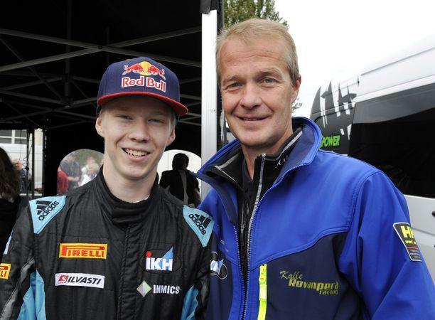 Kalle ja Harri Rovanperä kuvattuna vuonna 2017.
