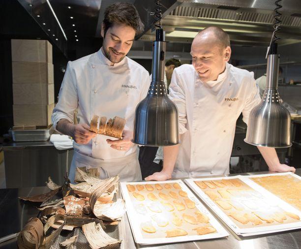 Henri Alén ja Tommi Tuominen pyörittävät yhdessä muun muassa ravintola Ultimaa.