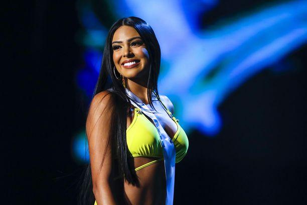 Brasilian Mayra Dias.