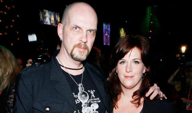 Mats Wester puolisonsa kanssa vuonna 2010.