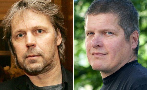 Harri Nykäsen (vas.) Raid ja Jarkko Sipilän komisario Takamäki kohtaavat alamaailmassa.