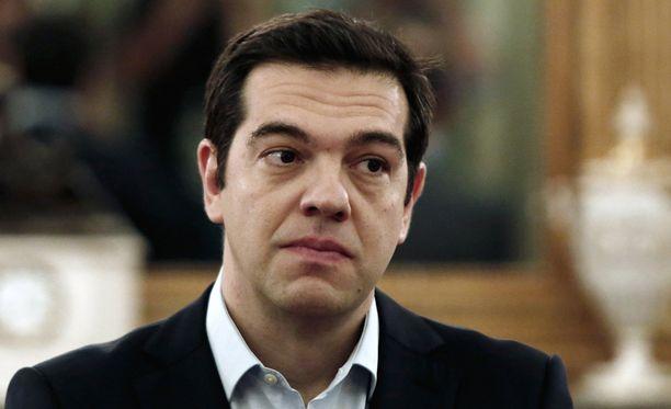 Alexis Tsipras on toiminut Kreikan pääministerinä vuoden alusta lähtien.