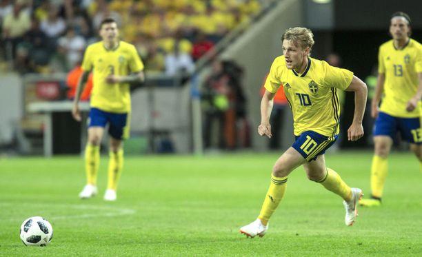 Emil Forsberg on Ruotsin tähti.