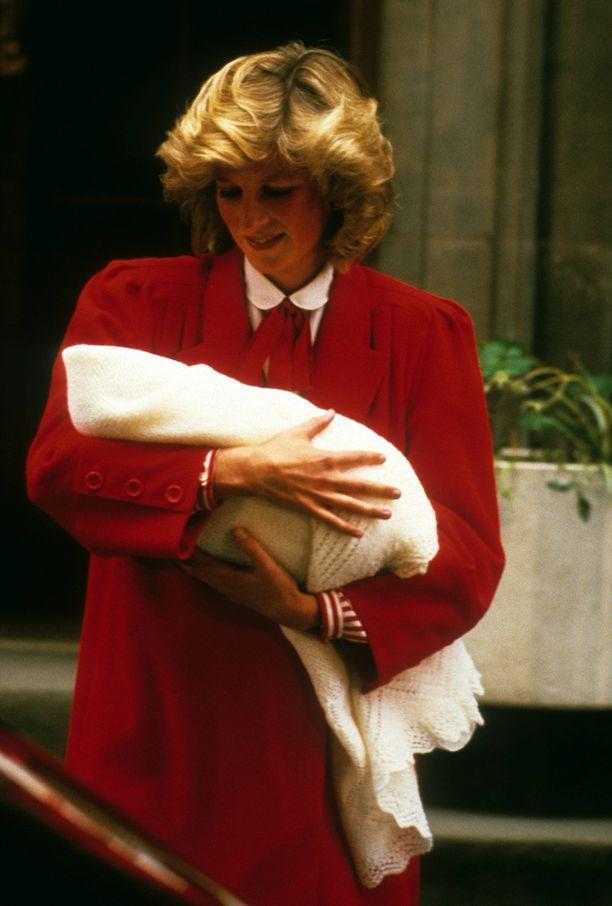 Prinsessa Diana vuonna 1984.