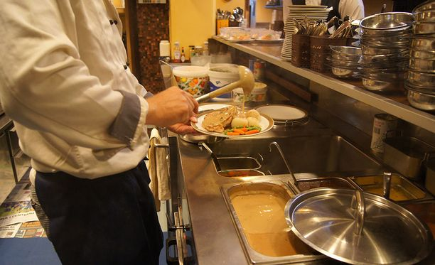 Tehovalvonnan yhteydessä tarkastettiin 39 ravintolaa Pohjois-Savon kunnissa. Kuvituskuva.