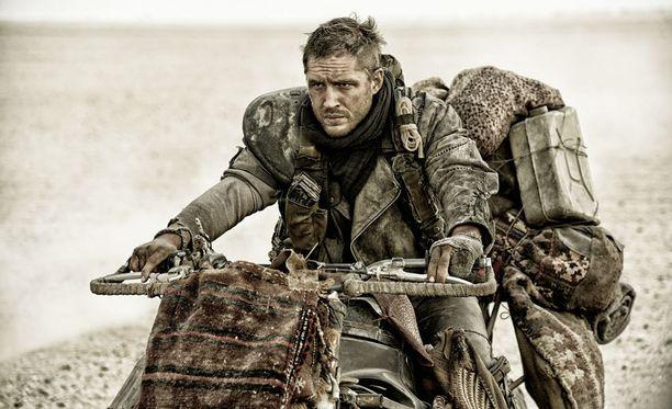 Tom Hardy esittää pääosaa Mad Max: Fury Roadissa.