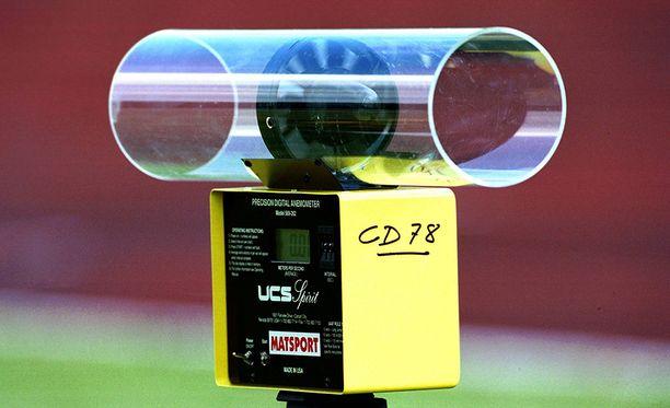 Asiantuntijoiden mukaan yleisurheilun tuulimittauksia ei voida pitää järin tarkkoina.