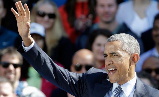 Barack Obama on saanut työllisyyden noususta uuden sulan hattuunsa.