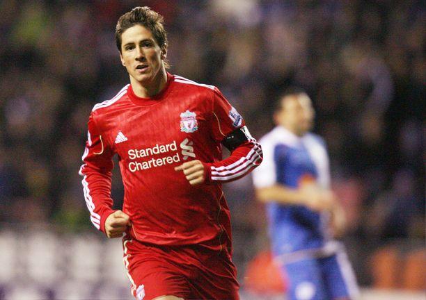 Liverpoolissa pelatessaan Fernando Torres ei paistatellut lihaksilla.