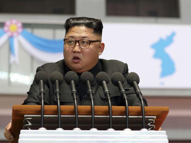 Pohjois-Korean johtaja Kim Jong-un seurasi uuden aseen testausta, kertoo maan valtiollinen media.