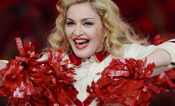 Madonna tienasi mukavasti kiertueellaan.