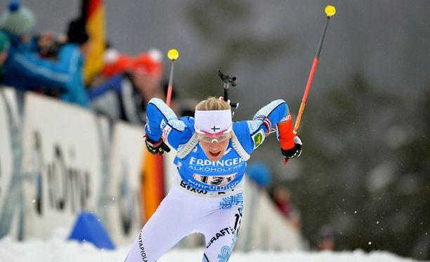 Kaisa Mäkäräinen hiihti ja ampui upean voiton.