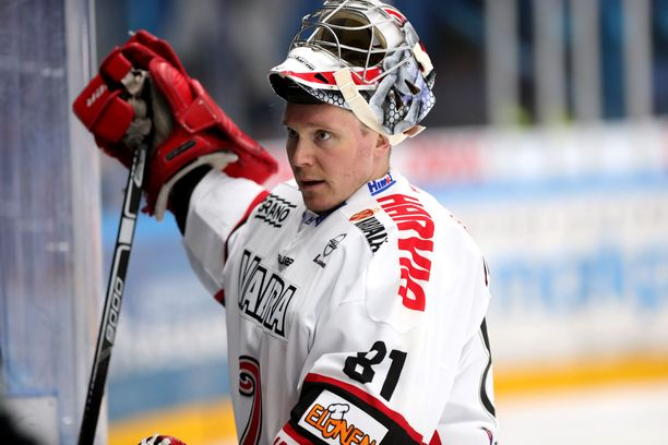 Pekka Tuokkola on pelannut tällä kaudella JYPissä kolme ottelua.