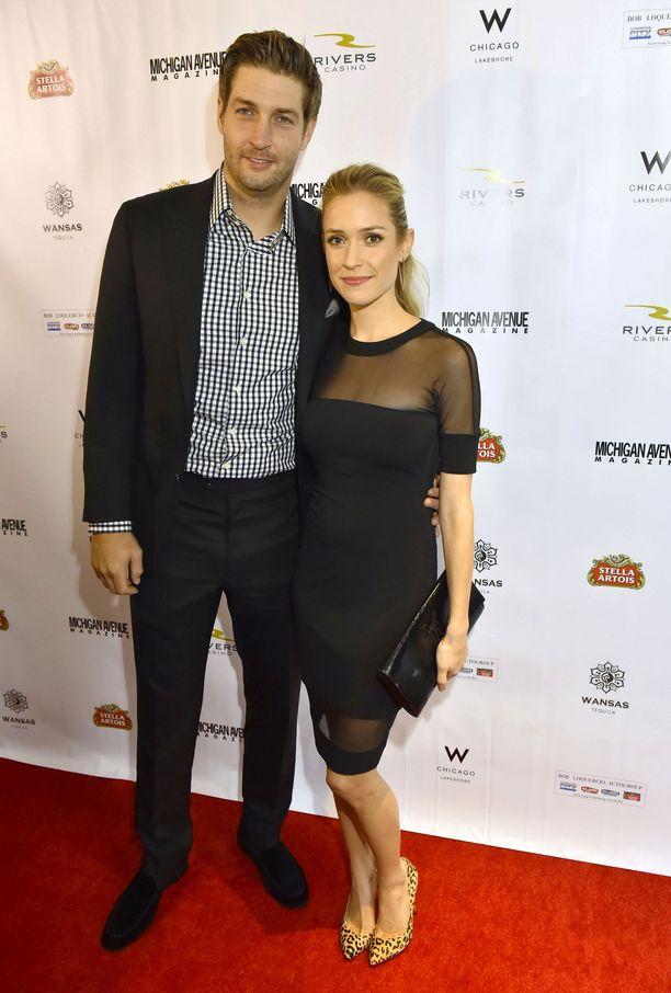 Kristin Cavallari ja Jay Cutler olivat yhdessä kymmenen vuotta.