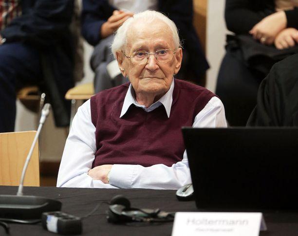 """Oskar Gröning, """"Auschwitzin kirjanpitäjä"""" sai kesällä neljän vuoden vankeustuomion."""