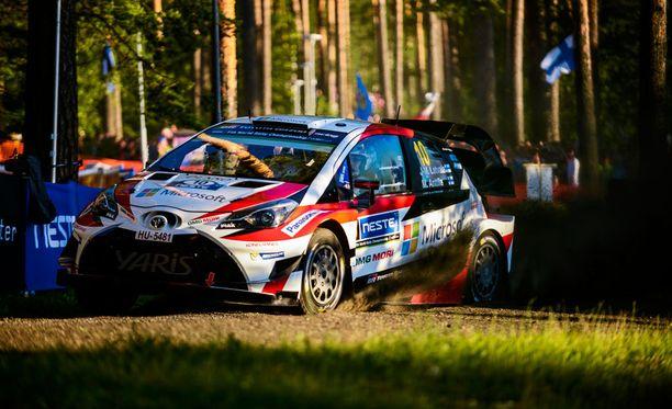 Tältä Yaris WRC näyttää todellisuudessa.