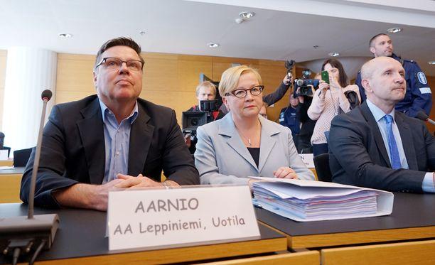 Rikoskomisariolla ei puolustuksen mukaan ollut mitään syytä epäillä Jari Aarniota (kuvassa).