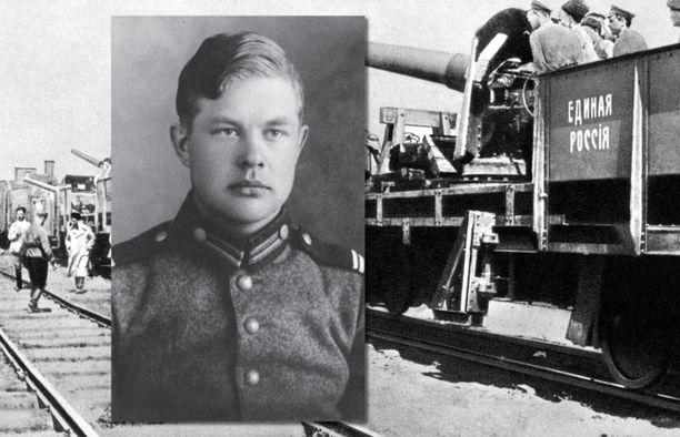 Veikko Salkio kuljetettiin talvisodan aikana halki läntisen Neuvostoliiton sotavankileirille Vologdan alueelle.