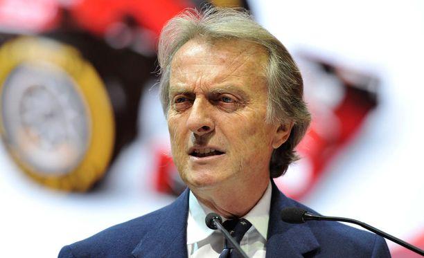 Luca di Montezemolo sai lähteä Ferrarilta viime vuonna.