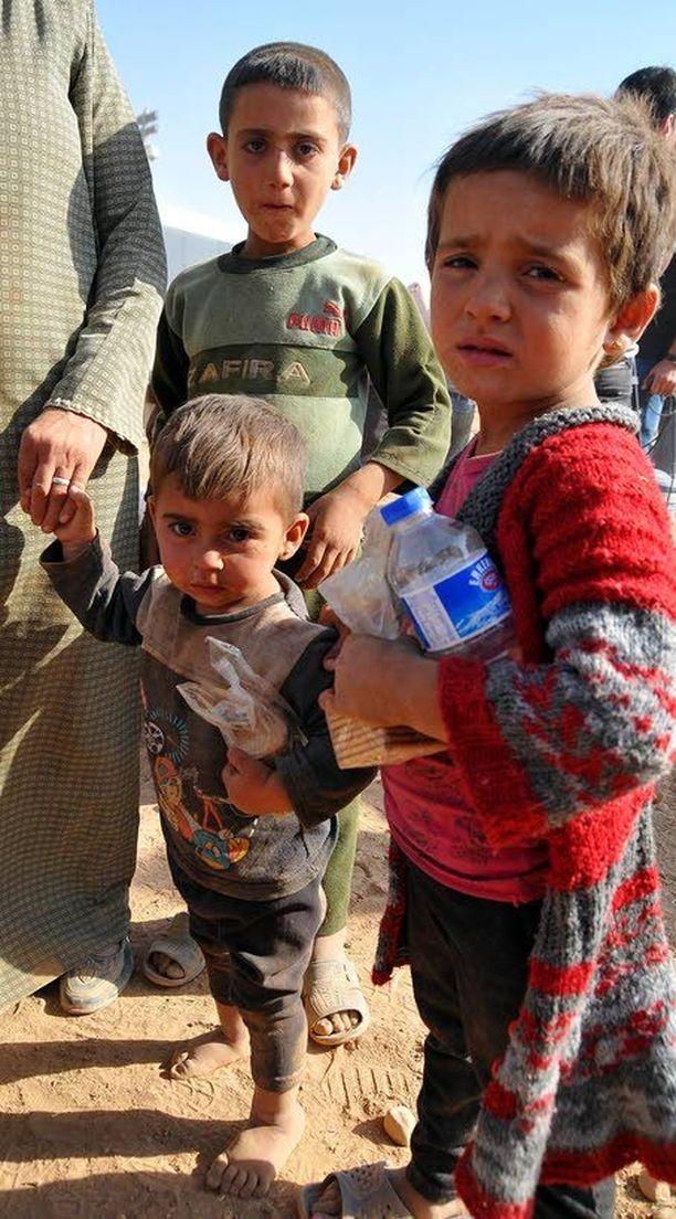 YK:n pakolaisapu pelkää kokonaisen kaupungin pakenevan Turkkiin.