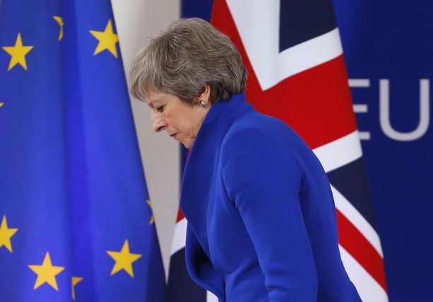 Pääministeri Theresa Mayn konservatiivipuolue ei ole saamassa eurovaalivoittoa, kertoo gallup.