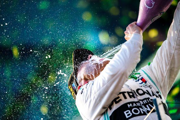 Valtteri Bottas ajoi ylivoimaiseen voittoon Australian avaus-GP:ssä viime sunnuntaina.