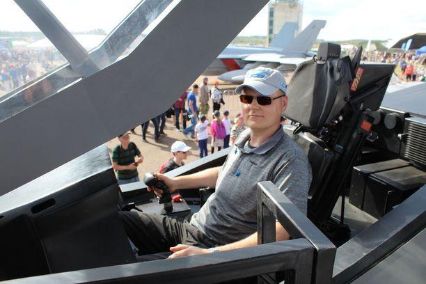 F-35 on Veli-Matti Miskalan suosikki.